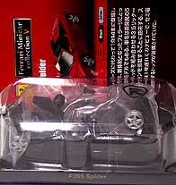 KYOSHO FERRARI F355 SPIDER NERO 001-01