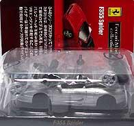 KYOSHO FERRARI F355 SPIDER SILVER 001-01